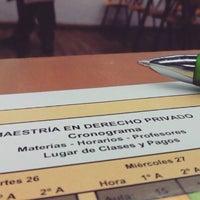 Photo taken at Facultad de Derecho Universidad Nacional de Rosario by Lenys V. on 4/29/2016