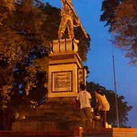 Photo taken at Alun - Alun Pemalang by Indra S. on 3/30/2014
