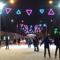 Photo taken at Каток ЦПКиО им. Горького by Yana M. on 11/30/2016