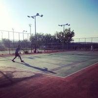Photo taken at 19 Mayıs Üniversitesi Tenis Kortları by Yasin D. on 5/9/2014