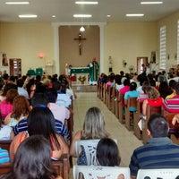 Photo taken at Capela São Pedro Julião Eymard by Rafael A. on 8/10/2014