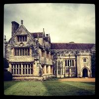 Photo taken at Athelhampton House by Klaus H. on 6/11/2013