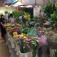 Photo taken at Caojiadu Flower Market by Bunyad K. on 6/25/2017