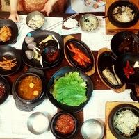Photo taken at 박현자네 더덕밥 by Taegil K. on 5/17/2013