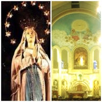 Photo taken at National Shrine of Our Lady of Lourdes by Jeffrey T. on 2/2/2013