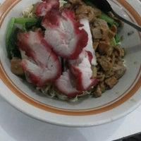 Photo taken at Mie abun,pasar baru by cecillia S. on 11/24/2013