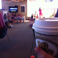 Photo taken at Kinderland Indoor Play and Café by n g. on 10/7/2012