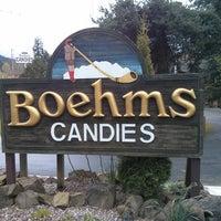 Photo taken at Boehm's Candies by Erik T. on 4/13/2013