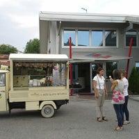 Photo taken at Carrozzeria Castellana by Manuele C. on 7/5/2013
