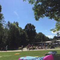 Photo taken at Gartenbad Bottmingen by Alex R. on 8/14/2016