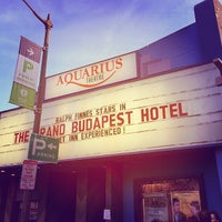 Photo taken at Aquarius Theatre by Sean C. on 3/20/2014
