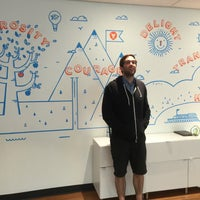 Photo taken at Unbounce HQ by Kenny G. on 5/24/2016