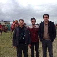 Photo taken at Buharkent Stadı by TC Taner on 1/25/2015