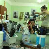 "Photo taken at Парикмахерская ""София"" by Olga G. on 8/24/2013"