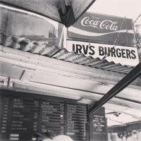 Photo taken at Irv's Burgers by Francis S. on 6/27/2013