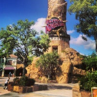 Photo taken at Islands Of Adventure Lighthouse by Chris W. on 6/14/2013