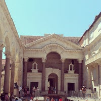 Photo taken at Diocletian's Palace by Katya L. on 7/23/2013
