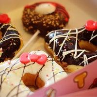 Photo taken at Mister Donut by Pinku N. on 6/19/2014