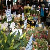 Photo taken at Columbia Road Flower Market by Ciaran R. on 3/3/2013