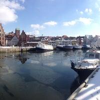 Photo taken at Hafen Wismar by Alex G. on 3/15/2013