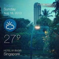 Photo taken at Hotel 81 Bugis by Kiko M. on 8/17/2013