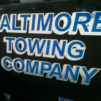 Photo taken at Baltimore Towing Company by Ken S. on 11/28/2012