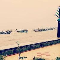 Photo taken at Pantai Boom Tuban by Eline L. on 2/9/2016