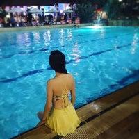 Photo taken at Pantai Mutiara Swimming Pool by Eline L. on 11/19/2016