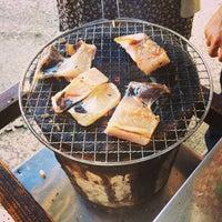 Photo taken at ひもの屋 半兵衛 by Natsuki Y. on 10/6/2013