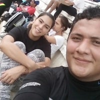 Photo taken at Campo Deportivo Mario Prichi Barrera (Rastro) by Yayo H. on 3/21/2015