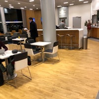 Photo taken at Lufthansa Business Lounge by Erinc E. on 12/18/2017