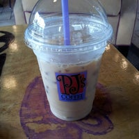 Photo taken at PJ's Coffee by Em Pinky D. on 6/20/2013