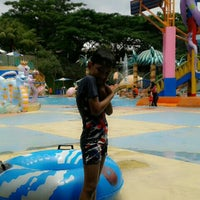 Photo taken at Citra Garden Water Park by dwi p. on 2/9/2014