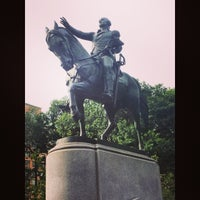 Photo taken at George Washington Statue by Regis M. on 8/2/2014