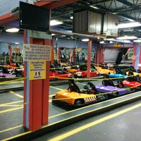 Photo taken at The Funplex by Andrew S. on 3/22/2015