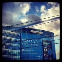 Photo taken at Microsoft France by Nat F. on 12/11/2012