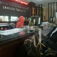 Photo taken at Kantor Pelayanan Pajak Pratama Bandung Tegallega by Ridha A. on 6/5/2014