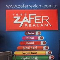 Photo taken at Zafer Reklam by Çetin C. on 5/15/2013