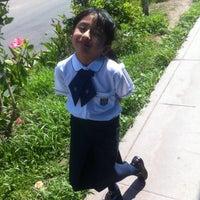Photo taken at Colegio Bartolome Herrera by Malena E. on 3/31/2014