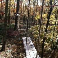 Photo taken at Skytop Lodge: Adventure Center by Bate on 10/17/2013