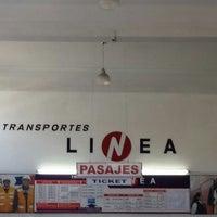 Photo taken at Transportes Línea by Gabriel C. on 2/12/2014