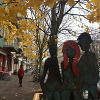 Photo taken at Helmholtzplatz by Heike on 11/16/2017