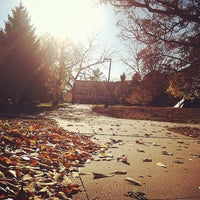 Photo taken at Karrmann Library at UW-Platteville by Zubaer T. on 10/25/2014
