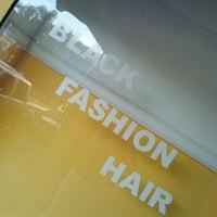 Photo taken at Black Fashion Hair by Cris S. on 6/28/2013