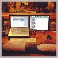 Photo taken at Brandy Sound Studio by Mathew R. on 5/14/2013