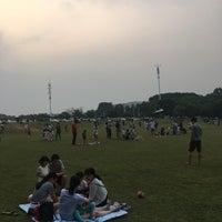 Photo taken at 大学城中心湖 by Sean W. on 9/25/2016