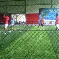 Photo taken at Megha Futsal by Briant N. on 11/29/2013