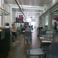 Photo taken at Brasserie T by Roula H. on 7/5/2013