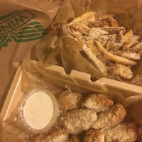 Photo taken at Wingstop by desiree l. on 3/4/2017