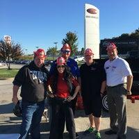 Photo taken at Steve Landers Toyota NWA by desiree l. on 10/22/2016